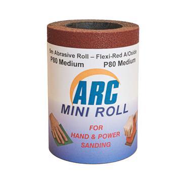 Flexi Red Oxide Roll P80 Grit 5 Metre