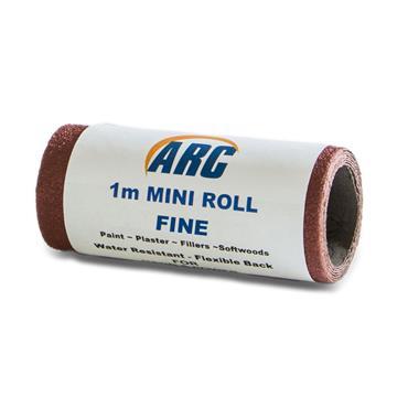 Flexi Red Oxide Roll P120 Grit 1 Metre