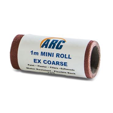 Flexi Red Oxide Roll P80 Grit 1 Metre