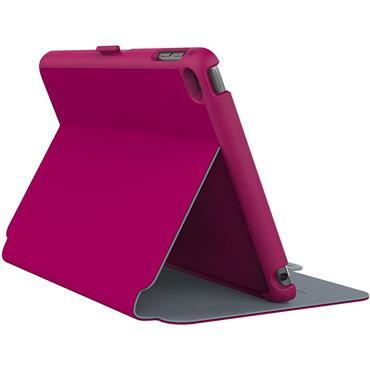 Speck iPad Mini 4 Style Folio Fuchsia/Nickel Grey