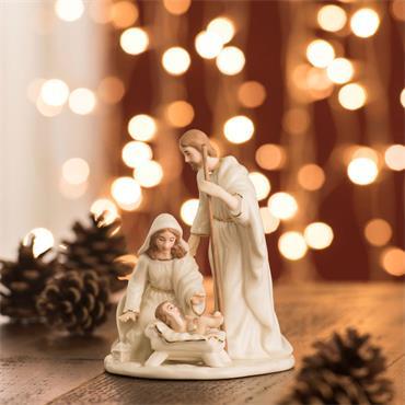 Belleek Nativity Family Small