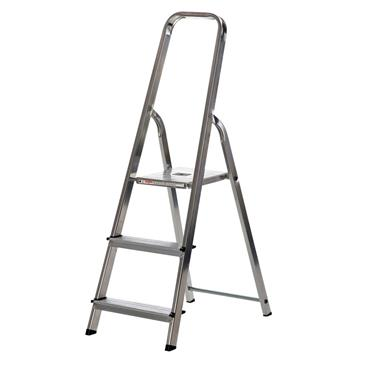 Werner 3 Tread High Handrail Stepladder