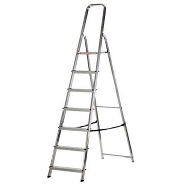 Werner 7 Tread High Handrail Stepladder