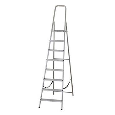 Werner 8 Tread High Handrail Stepladder