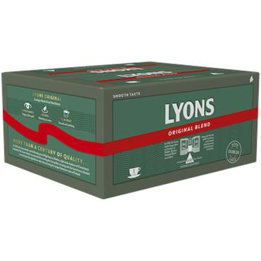 Lyons Pyramid Tea Bags (600)