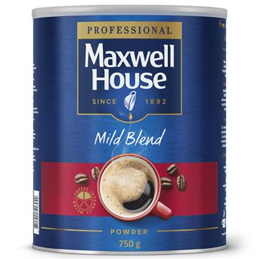 Maxwell House Mild Blend Coffee Powder 750g
