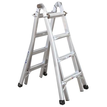 Werner 4mtr Telescopic Combination Ladder