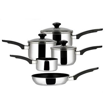Prestige Stainless Steel  5pce Cookware Set