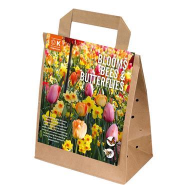 Kapiteyn Blooms Bees & Butterflies Pastel Shades Bulbs Spring Flowering 25pk