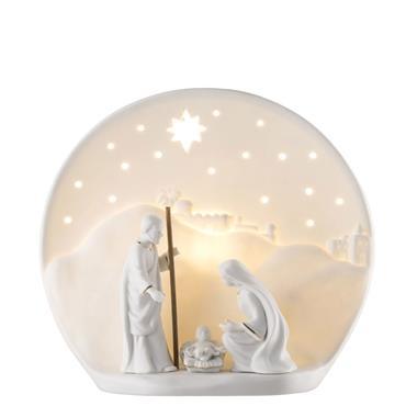 Belleek Nativity Luminaire