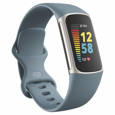 Fitbit Charge 5 Steel Blue / Platinum Stainless Steel