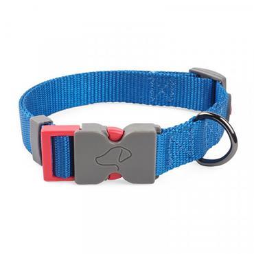 Smart Garden Walkabout Blue Dog Collar Medium (31cm - 47cm)