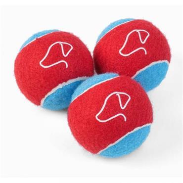 Smart Garden 5cm Mini Power Pooch Mini Tennis Balls 3pk
