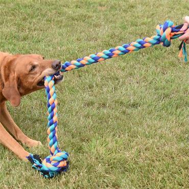 Smart Garden Dog Toy Uber Activ Rope Mega Tug