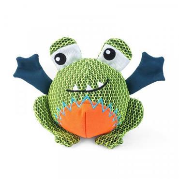 Smart Garden Dog Toy Tough Fabric Dura Frog