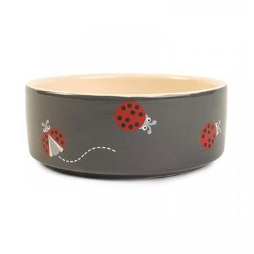 Smart Garden Ladybug Ceramic Bowl   12cm