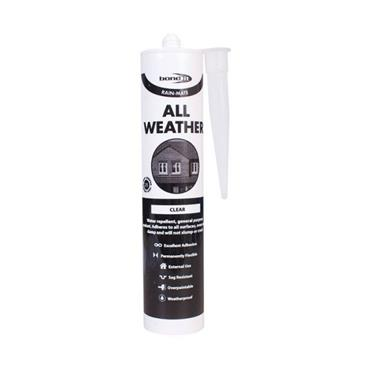 Bond It Rain Mate All Weather Sealant Clear 310ml