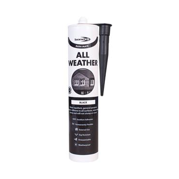 Bond It Rain Mate All Weather Sealant Black 310ml