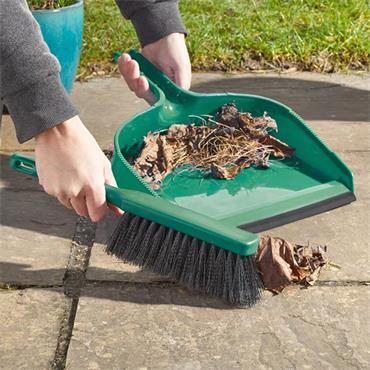 Smart Garden Yard Pan & Brush
