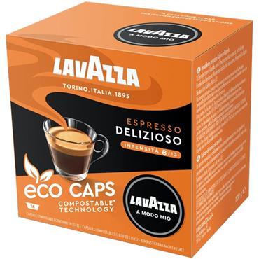 Lavazza Espresso Delizioso Compostable Capsules 16pk