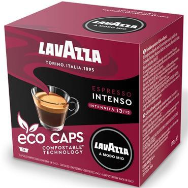 Lavazza Espresso Intenso Compostable Capsules 16pk