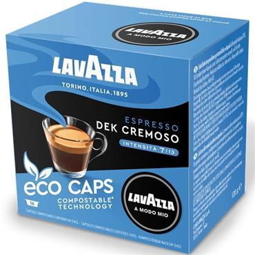 Lavazza Dek Cremoso Decaf Compostable Capsules 16pk