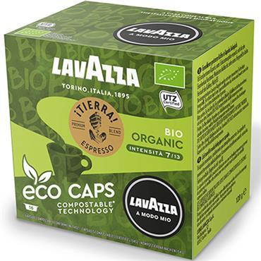 Lavazza Espresso Tierra Bio Compstable Capsules 16pk