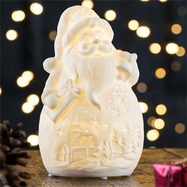 Belleek Jolly Santa Led