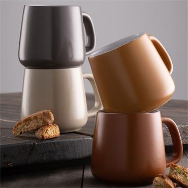 Belleek Fire & Earth Mug Set 4pce