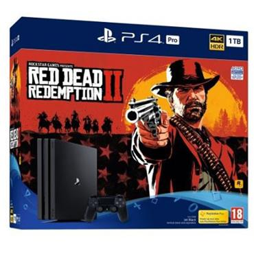 Playstation 4 Pro 1TB Console & Red Dead Redemption 2 Bundle