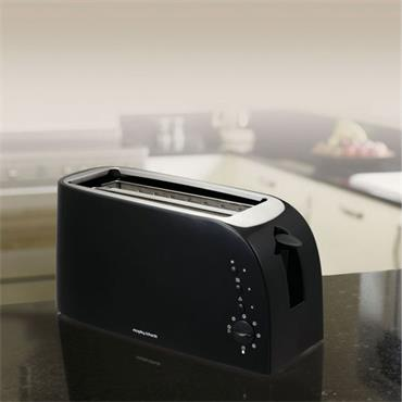 Morphy Richards 4 Slice Toaster Black