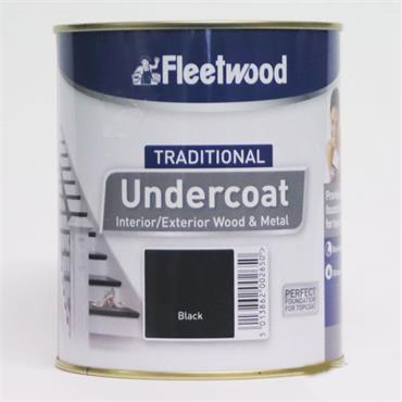 Fleetwood Traditional Undercoat Black 250ml