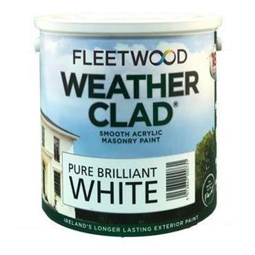 Fleetwood Weather Clad Brilliant White 2.5L