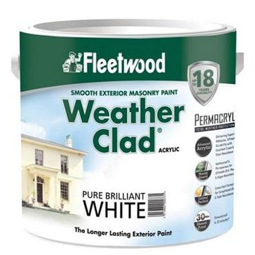 Fleetwood Weather Clad Brilliant White 5L