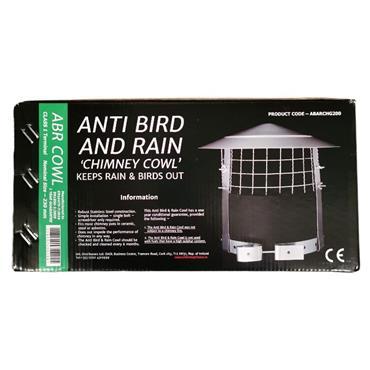 Anti Bird And Rain Chimney Cowl