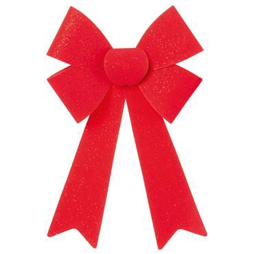 Red Velvet Bow 36 x 23cm