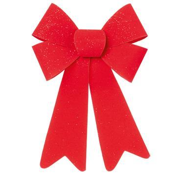 Red Velvet Bow 25 x 15cm