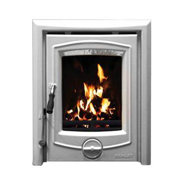 Henley Stoves Achill 6.6 Kw Inset  Grey Enamel