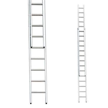 Stradbally Ladders 2.5m Aluminium Double Extension Ladder