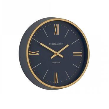 Thomas Kent Hampton Navy 25cm Clock