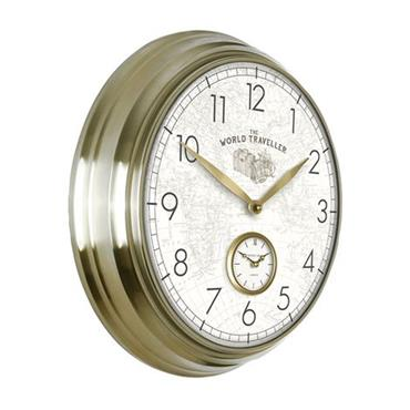 "19"""" Greenwich Timekeeper Wall Clock"