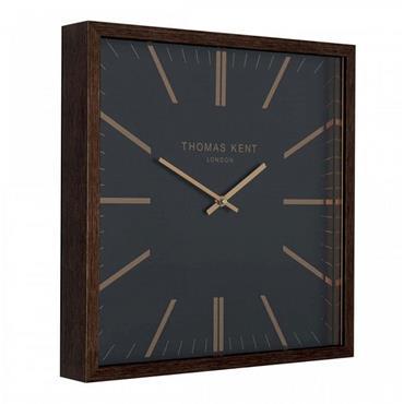 "Thomas Kent 24"" Garrick Wall Clock Wood"