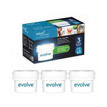 Aqua Optima Evolve Water Filter 3pk
