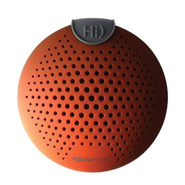 Boompods Aquapod Waterproof Bluetooth Speaker Orange