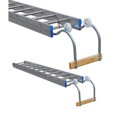 Stradbally Ladders 7.6m Aluminium Folding Roof Ladder