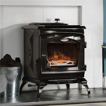 Waterford Stanley Ardmore Eco Stove Black Enamel