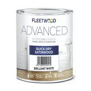 Fleetwood Advanced Quick Dry Satinwood White 1 Litre
