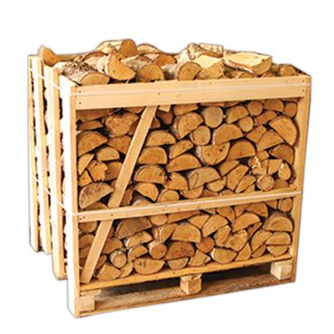 450kgs Crate of Kiln Dried Ash Firewood Logs