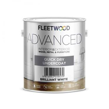 Fleetwood Advanced Quick Dry Undercoat White 2.5L