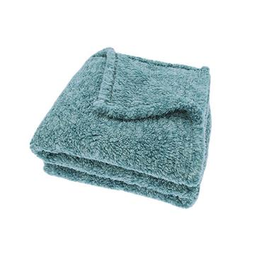 Cosy Cloud Throw Teal